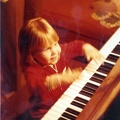 Bethany plays piano