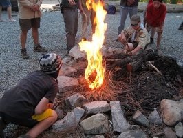 Fire-building Competition