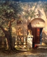 Sunlight And Shadow - Albert Bierstadt